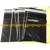 Buy cheap Shipping Plastic Bags For Clothes 29 Cmx 40cm Self Adhesive Black Color product