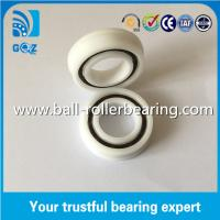 Buy cheap F6005 POM Plastic Flange Deep Groove Ceramic Ball Bearings ID 25mm product