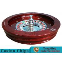 "Buy cheap Luxury Casino Gaming Standard Solid Wood 32"" Roulette Wheel Dedicated For Roulette Poker Table product"