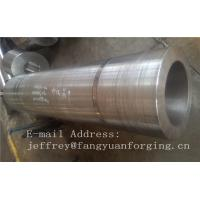 Buy cheap DIN 17CrNiMo6 ,18CrNiMo7-6 Anealing Forged Sleeves / Hollow Shaft Heat Treatment product