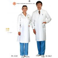 China Customised Doctors Apron Coats , Pink  Blue White Medical Apron For Doctors Non Sterilized wholesale