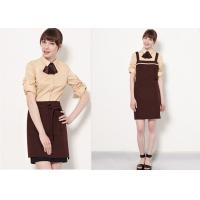 Buy cheap Coffee Shop Fine Dining Restaurant Staff Clothing Unisex With High - End Suit product