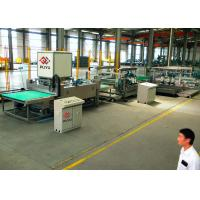 Buy cheap 1300 mm Solar Straight Line Glass Edging Equipment With 6 Spindles Solid structure product
