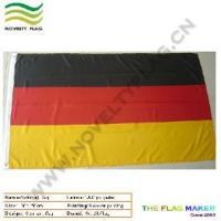 China Polyester Germany Country Flag by Screen Printing (NF05F03011) wholesale