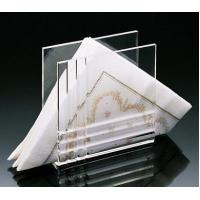 Quality Beautiful Shape Acrylic Napkin Holders/Tray With Reasonable Price for sale
