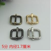 Buy cheap Factory Price Multi-color 17 mm Iron Metal Tri-Glide School Bag Adjustable Strap Buckle product