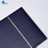 Buy cheap 0.5W Polycrystalline Mini Solar Panels High Efficiency For Small Power Supply product