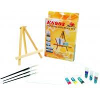 Buy cheap Beautiful Oil Painting Sets For Adults With Table Triangular Easel product