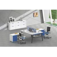 Buy cheap 2 person face to face full set office desk 1200x1200 1400x1400mm product
