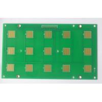 Buy cheap FR4 PCB Prototype Fabrication 2 Layers 1oz Copper Thickness Green Soldmask product
