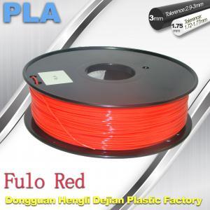 Buy cheap 1.75 / 3mm Fluorescent Filament   PLA Fluo filament  bright color filament product