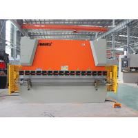 Buy cheap Hydraulic Sheet Metal NC Press Brake Equipment With Laser Safety Protection product