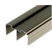 Buy cheap Golden / Silver Anodized Profile Aluminum Extrusions For Curtain Wall product