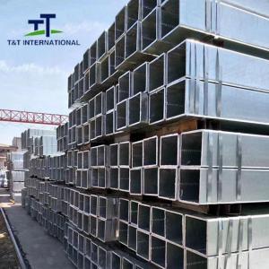 China 1020 Galvanized Steel Square Tubing Uniformed Structure ERW Technique on sale