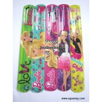 Buy cheap Buy Factory Color OEM Promotion Gift PVC Slap Band with OEM Logo print product