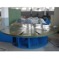 Buy cheap Steel Automatic Welding Machine Max Loading 5 Tons Horizontal Rotary Table from wholesalers