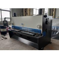 Buy cheap Guillotine Shear Hydraulic Metal Sheet Cutting Machine With Delem For Mild Steel product