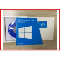Buy cheap Original Full retail version Windows Server 2012 standard 5 cals Retail Box product
