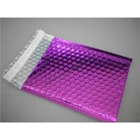 Quality Multi Colored Purple Metallic Bubble Mailers 220x275 #B5-3 For Transport for sale