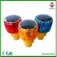 China Road constuction cone warning light/rechargeable led beacon/tower crane flashing light on sale