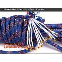Buy cheap personal protective escape rope polyester rope, high strength fire escape safety climbing rope product