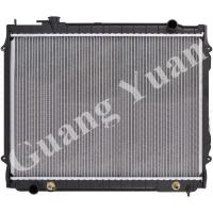 Quality High Heat Transfer Aluminum Auto Radiators Anti Corrosion OEM 16410-0C022 DPI for sale