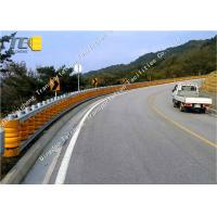 Buy cheap Outdoor Safety Roller Vehicular Impact Guardrail Orange Yellow Red Green Color product