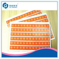 Buy cheap Self Adhesive Scratch Off Stickers , Matte Tamper Proof Security Labels product