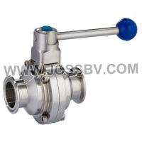 Buy cheap Sanitary Butterfly Type Ball Valve product
