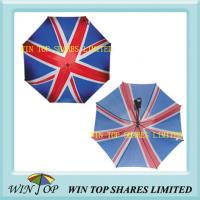 "China Arc 60"" UK Golf Flag Umbrella(WT5073) wholesale"