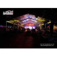 Buy cheap 150 Square Meters Clear Marquee Tent For Temporary Trade Show product