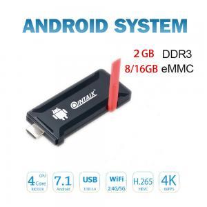 China Android7.1 tv stick Rockcip RK3328 Quad Core mini pc on sale