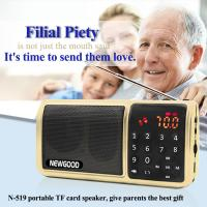 China Personal LED Flashlight HIFI Portable FM Radio Digital Music Mp3 Player Speaker Support SD/TF Card/USB on sale