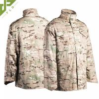 Buy cheap M65 Military Field Jacket Water Repellent With Concealed Hood product