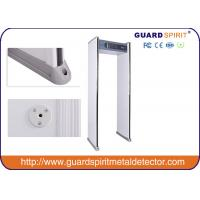 Buy cheap Most Popular 6 Zones Security Walk Through Metal Detector Door Frame ISO Standard product
