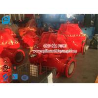 Buy cheap Red Color 2000gpm Diesel Engine Driven Fire Pump Set Used In Building from wholesalers