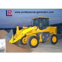 Buy cheap 3200kg Capacity Heavy Construction Machinery , Front End Wheel Loader With 92kw Deutz Engine product