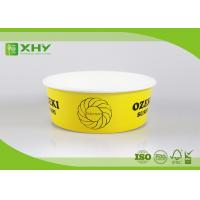 Buy cheap 26 Ounce Logo Printed Paper Salad Bowls For Grill , Disposable Paper Food Containers product