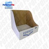 Buy cheap Simple Eye Catching Countertop Cardboard Display Shelf Ready With 4 Color Printed product