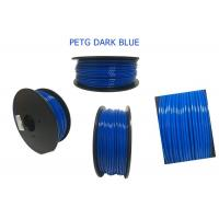 Buy cheap Free Sample 1.75mm 1KG PETG 3D Printer Filament , Polycarbonate 3doodler Filament from wholesalers