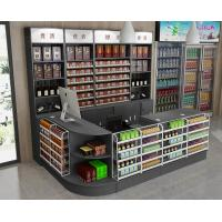 Buy cheap Customized Floor Standing Shop Display Shelving Metal Wine Racks For Retail Store product