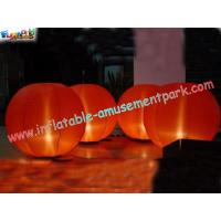 Buy cheap Outdoor colorful 2 Meter high Inflatable Lighting Decoration with common light or Led product