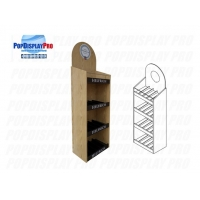 Buy cheap FSDU Shelving Red Wine Wood/MDF Permanent Merchandising Display Stand Heavyduty from wholesalers