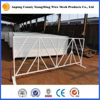 Buy cheap Barricade Fencing, Square tube, 45 high, 9.5ft long, for USA market product