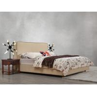 Buy cheap American design Good quality Gery Fabric Upholstered Headboard Queen Bed Leisure Furniture for Apartment Bedroom set product