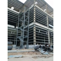 Buy cheap 40HQ Loading Q235B Multi Floor Warehouse Steel Structure from wholesalers