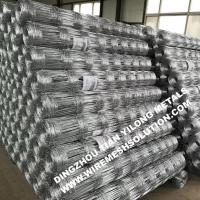 Galvanized Iron Cattle Fence for Road Woven Wire Mesh