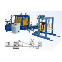 Buy cheap QT10-15 European Quality Full Automatic Concrete Block Making Machine product