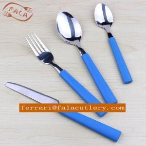 Buy cheap Commercial Patio Fiesta Designer Plastic Handle Cutlery Rental product