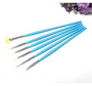 Buy cheap Nail Art Brush/Acrylic Kolinsky Nylon Brush,Nail gel brush/ 6pcs Nail Brush Pen Set product